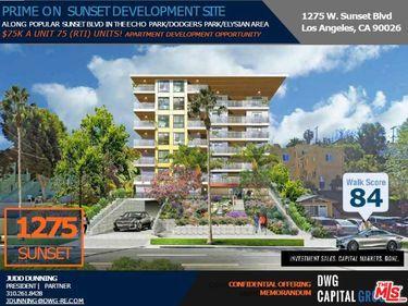 1275 W Sunset Boulevard, Los Angeles, CA, 90026,