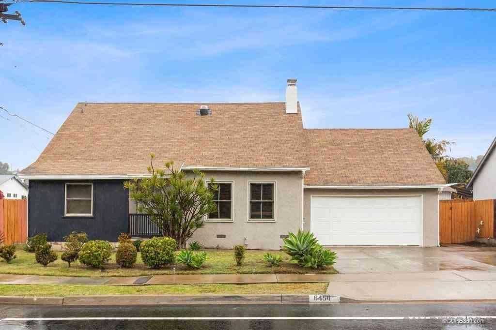 6454 Parkside, San Diego, CA, 92139,