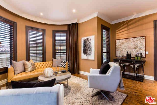 Sunny Living Room, 1744 STONE CANYON Road, Los Angeles, CA, 90077,