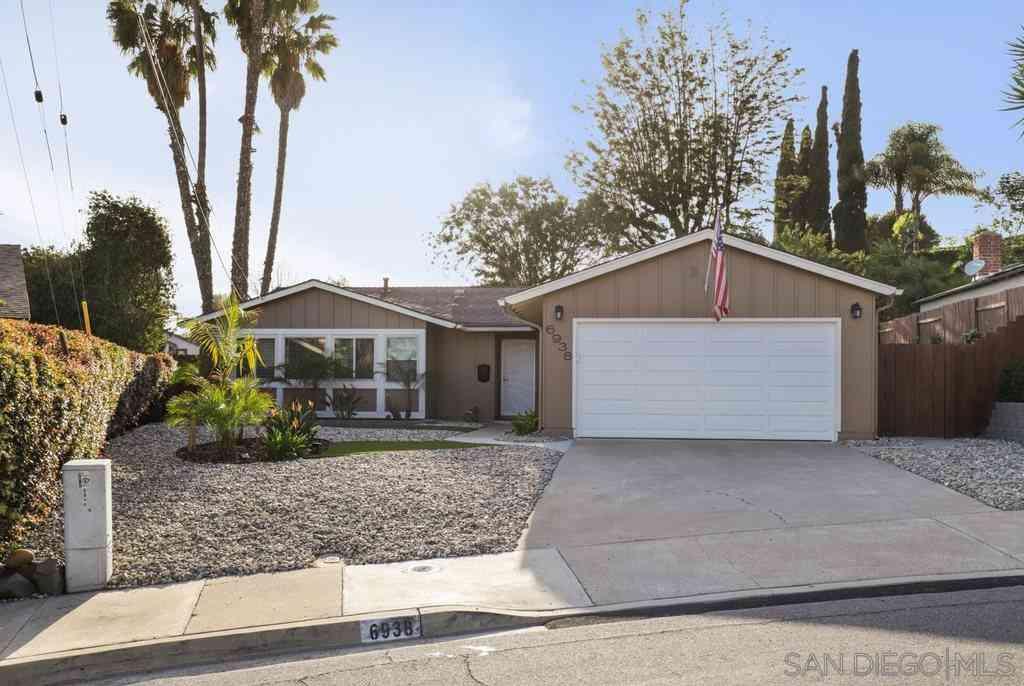 6938 Lalley Ln, San Diego, CA, 92119,