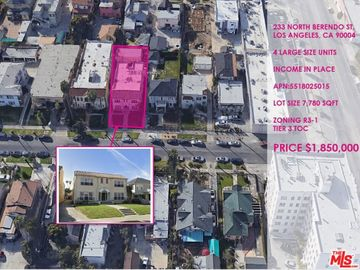 233 N Berendo Street, Los Angeles, CA, 90004,