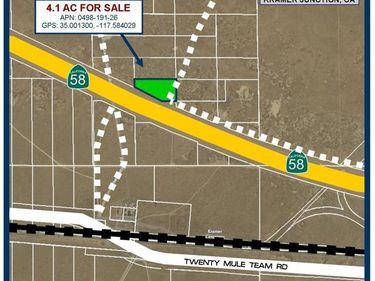 4 Highway 58, Kramer Junction, CA, 93516,