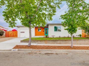 8371 Onalaska Ave., San Diego, CA, 92123,
