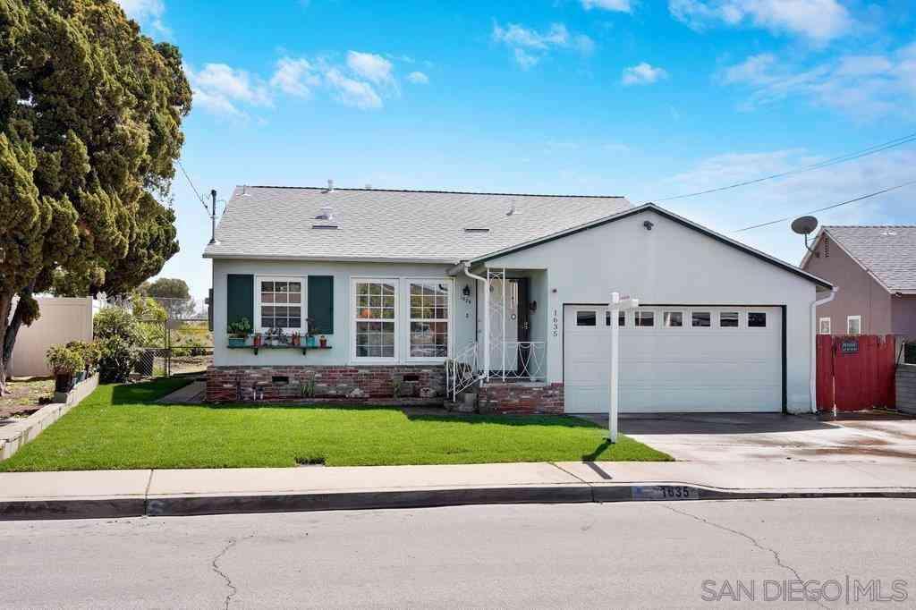 1635 Rowan St, San Diego, CA, 92105,