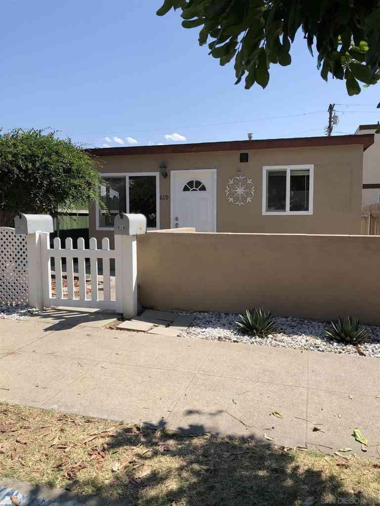 819 39th. Street, San Diego, CA, 92102,