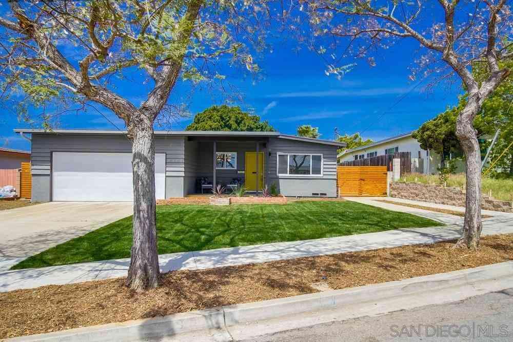 8404 Onalaska Ave., San Diego, CA, 92123,