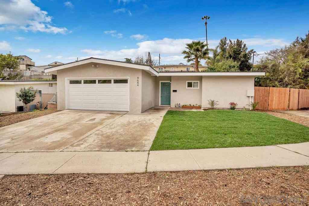 4644 Revillo Way, San Diego, CA, 92115,