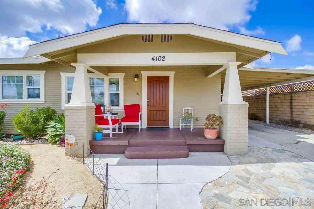 4102 Cherokee Ave, San Diego, CA, 92104,