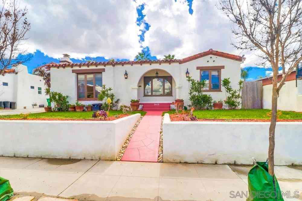 5415 Collier Ave, San Diego, CA, 92115,