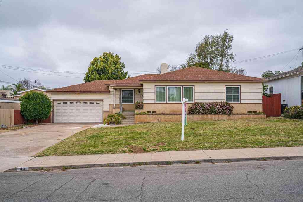 43 Sierra Way, Chula Vista, CA, 91911,