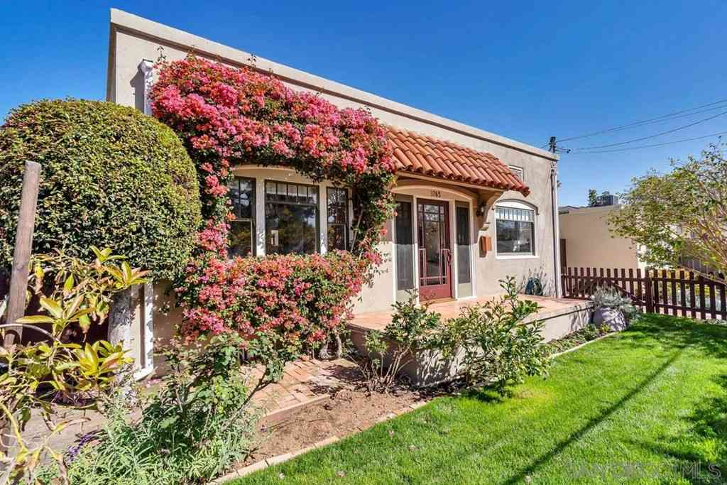 1765 W Arbor, San Diego, CA, 92103,