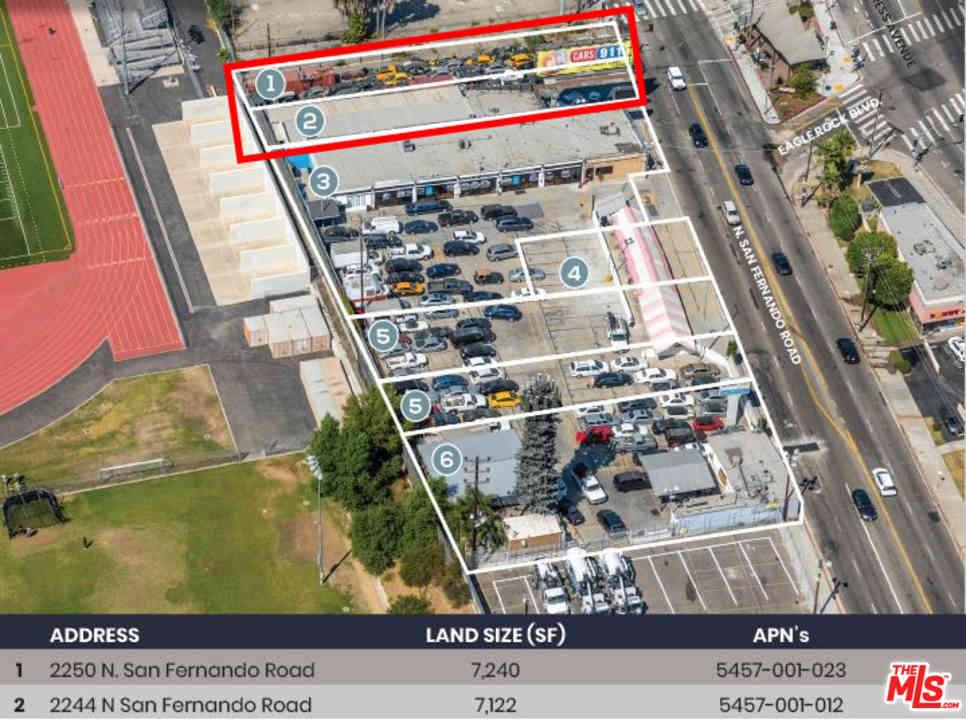 2250 N San Fernando Road, Los Angeles, CA, 90065,