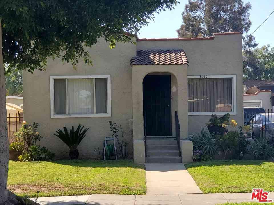 1029 S Fir Avenue, Inglewood, CA, 90301,