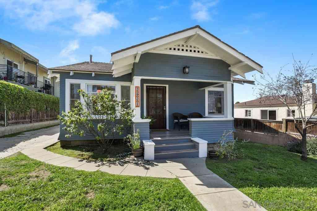2921 B St, San Diego, CA, 92102,