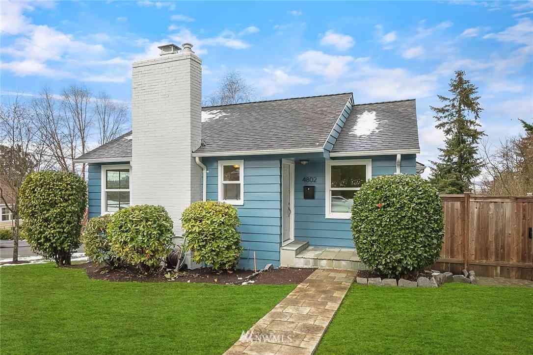 4802 S Alaska Street, Seattle, WA, 98118,