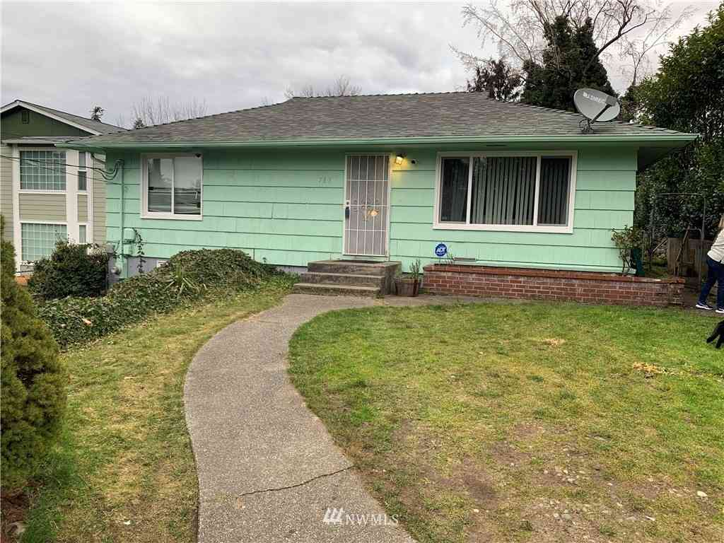 765 S 97th Street, Tacoma, WA, 98444,