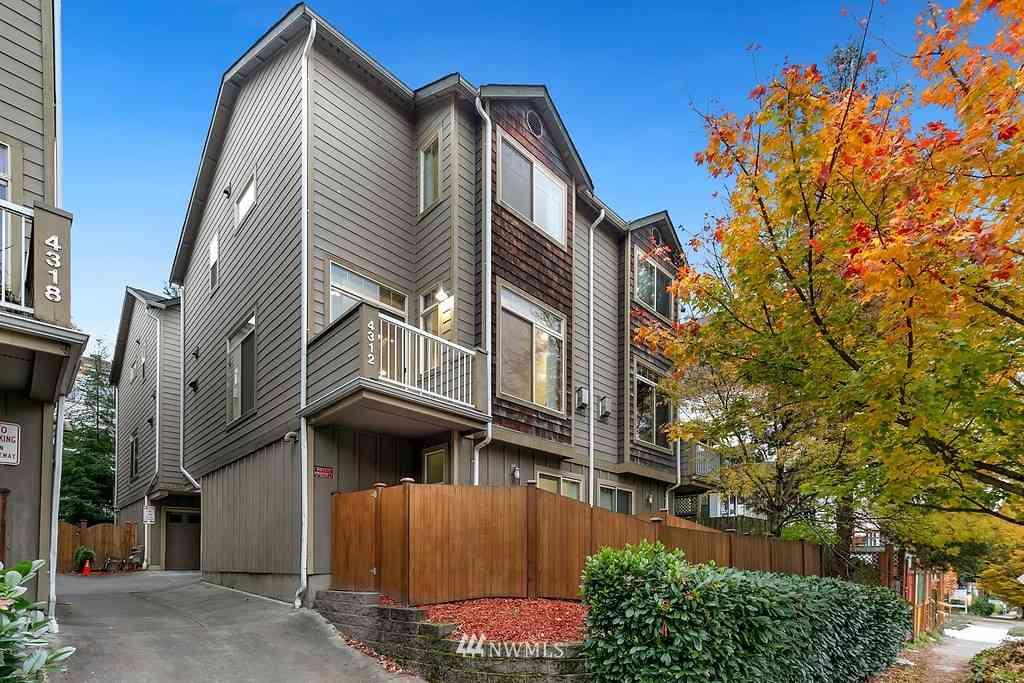 4312 8th Avenue NE #B, Seattle, WA, 98105,