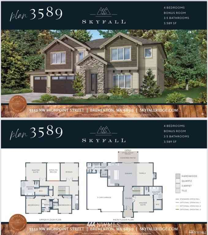 5516 Muddy Paws (Lot 17) Court, Bremerton, WA, 98312,