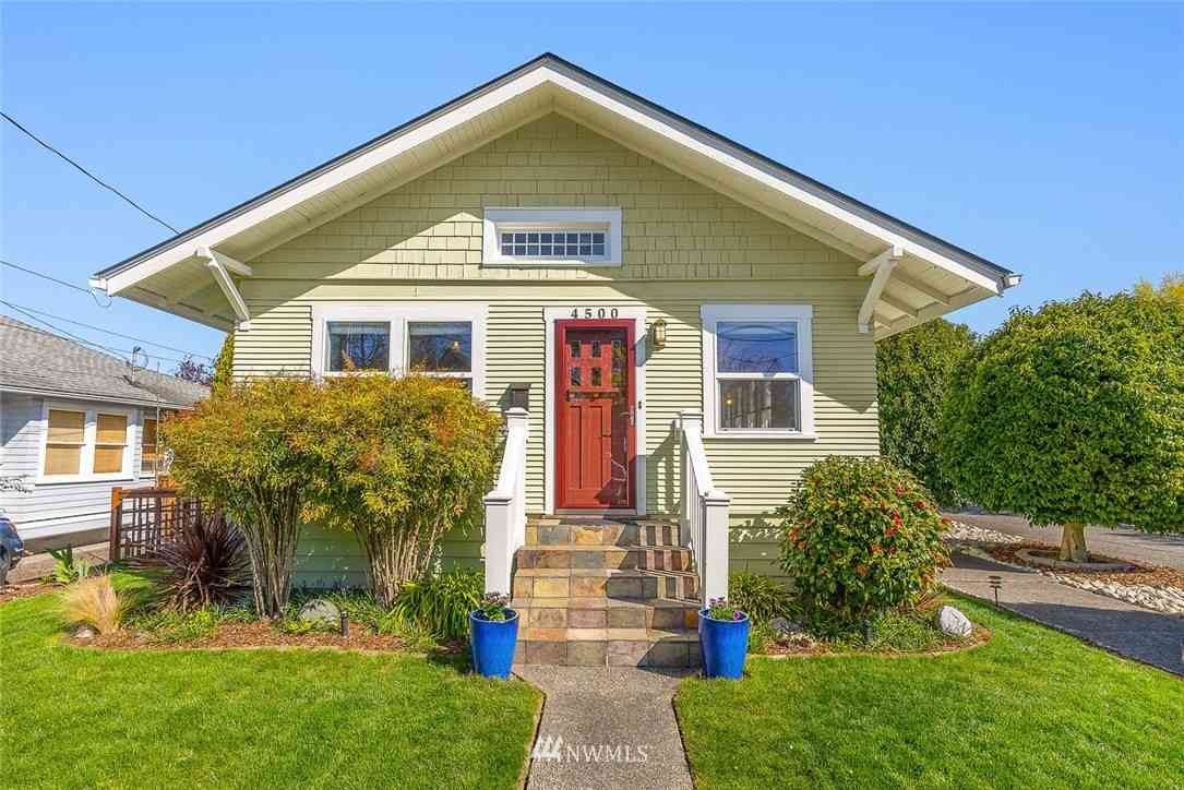 4500 SW Graham Street, Seattle, WA, 98136,