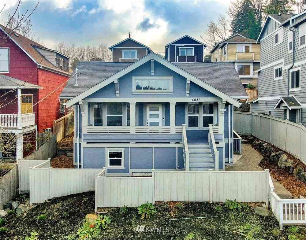 4036 23rd Avenue SW, Seattle, WA, 98106,