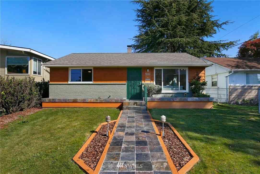 5146 S Frontenac Street, Seattle, WA, 98118,