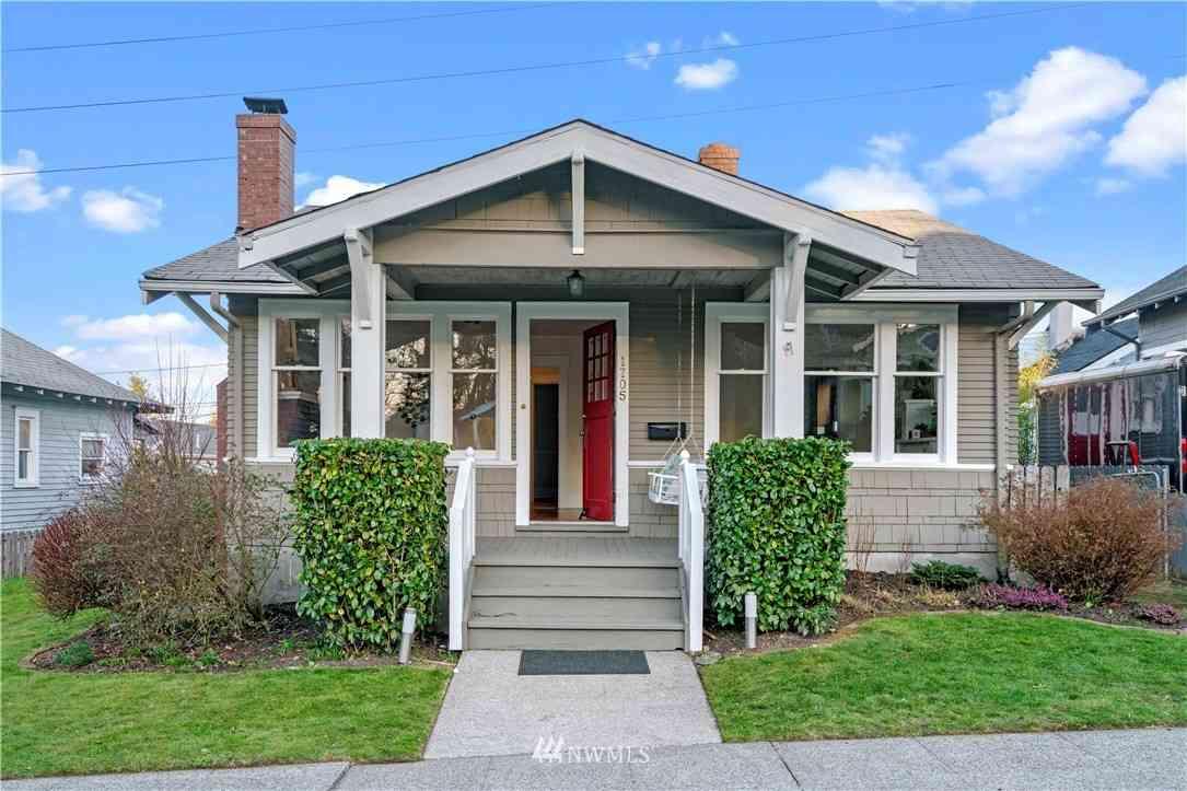 1705 N Anderson Street, Tacoma, WA, 98406,