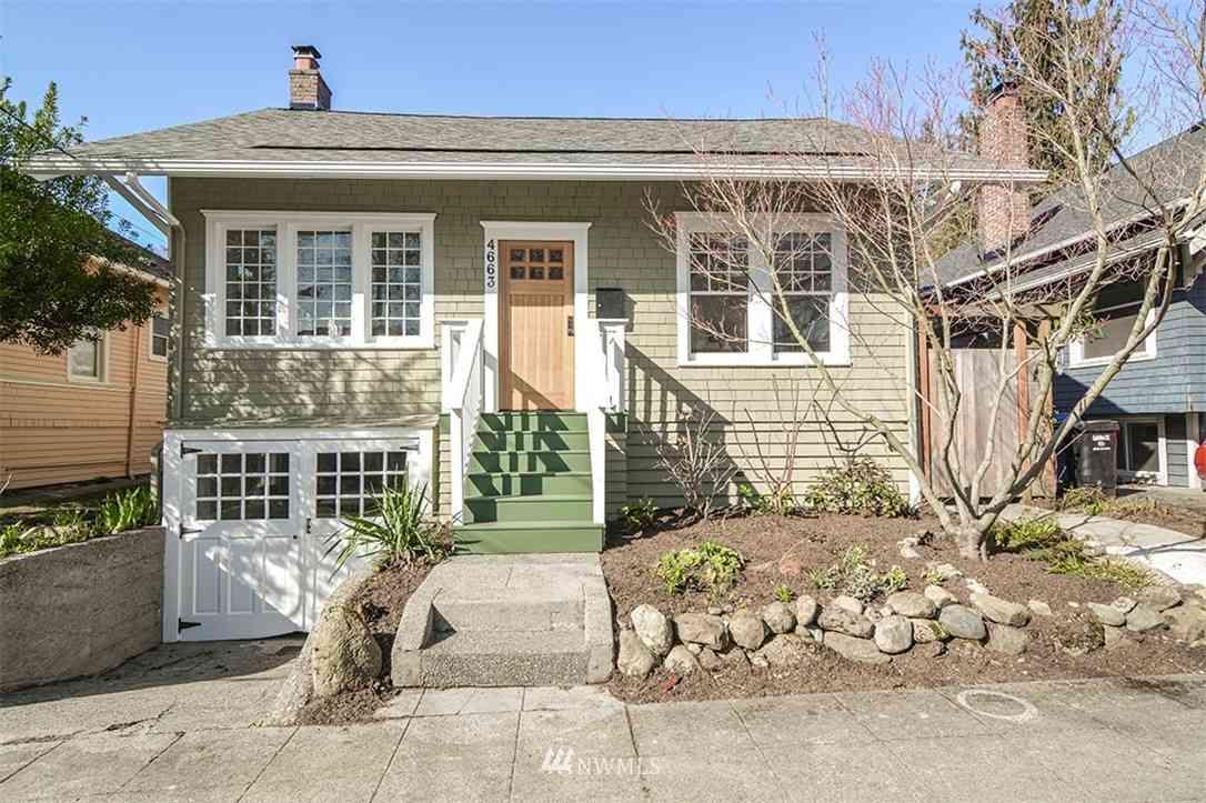 4663 1St. Avenue NE, Seattle, WA, 98105,
