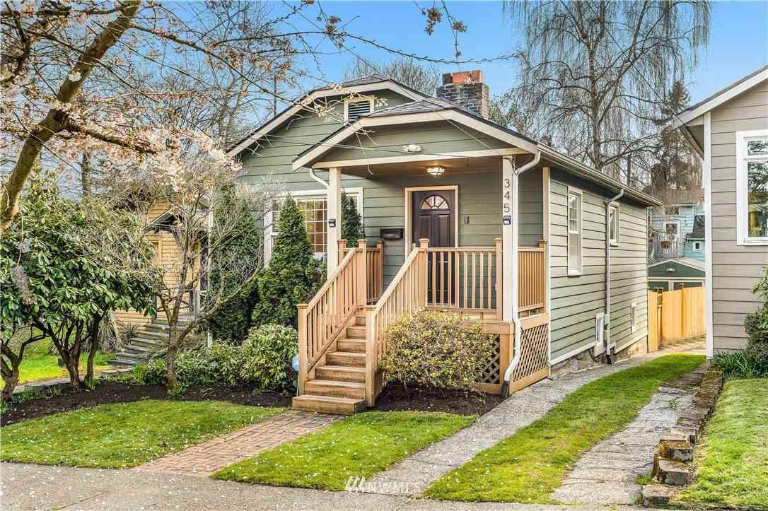 345 NE 58th Street, Seattle, WA, 98105,