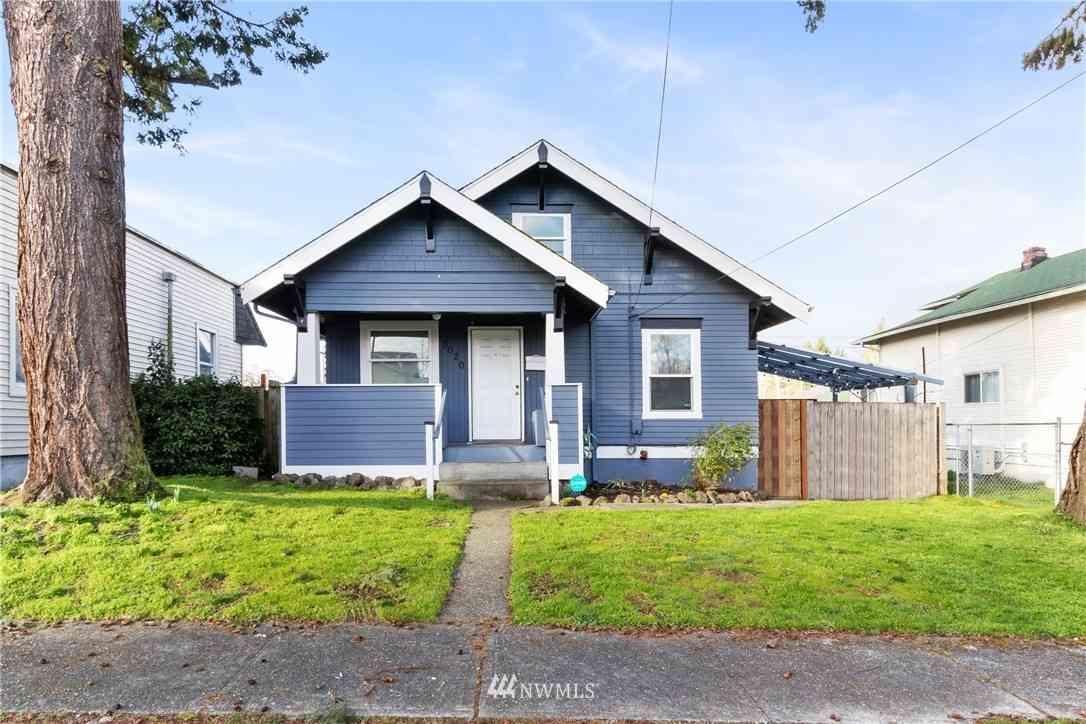 3020 S Washington Street, Tacoma, WA, 98409,
