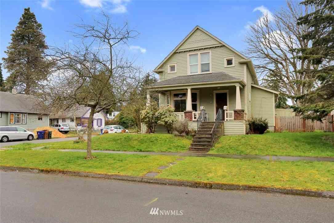 848 S Ferry Street, Tacoma, WA, 98405,