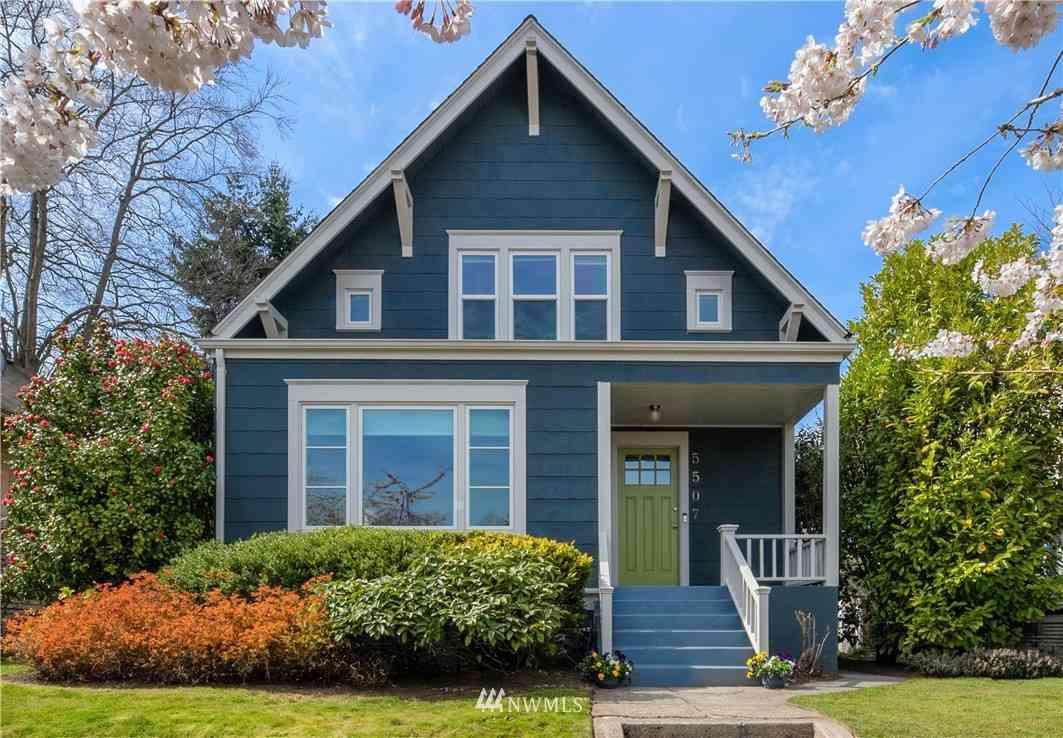 5507 12th Avenue NE, Seattle, WA, 98105,