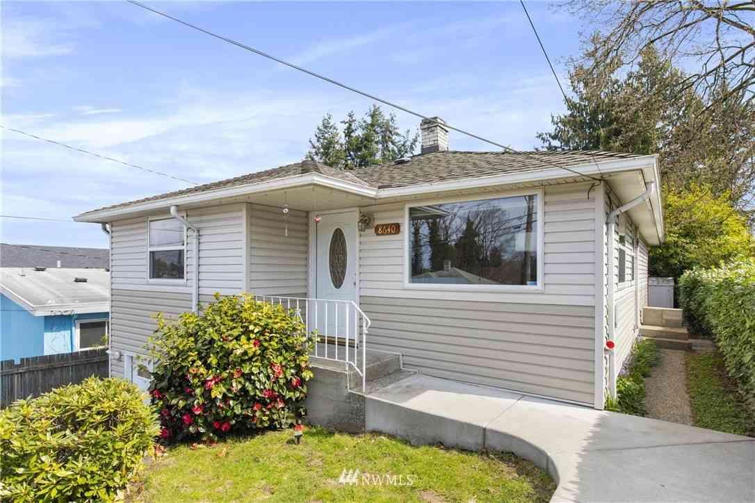 8640 38th Avenue S, Seattle, WA, 98118,