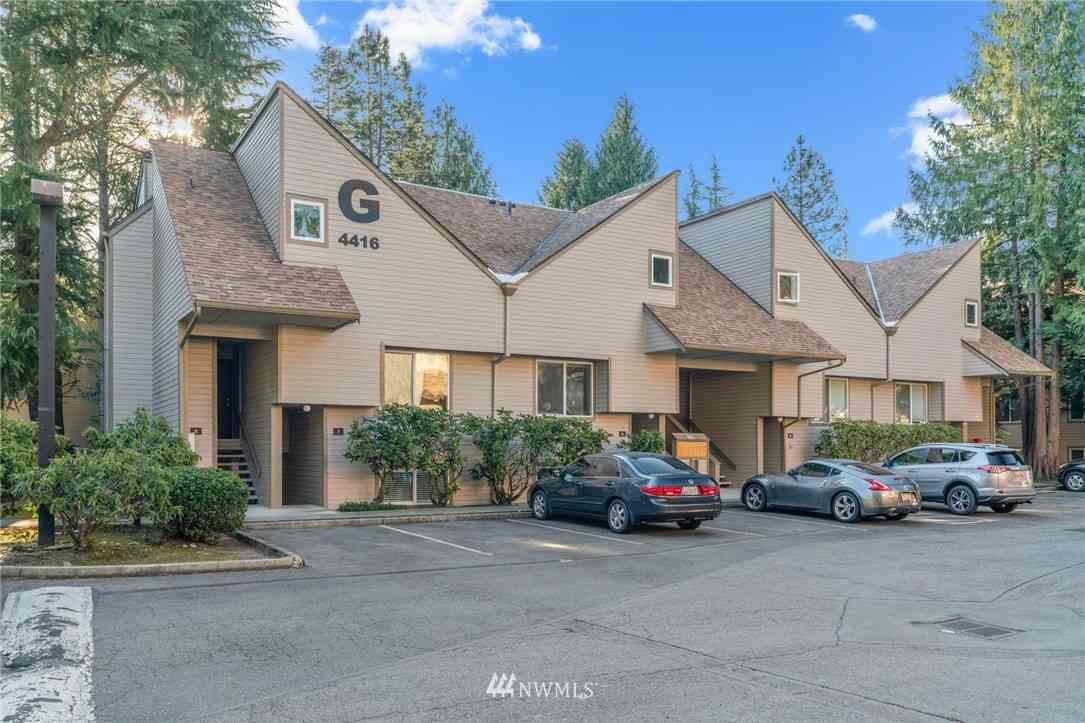 4416 145th Avenue NE #G6, Bellevue, WA, 98007,