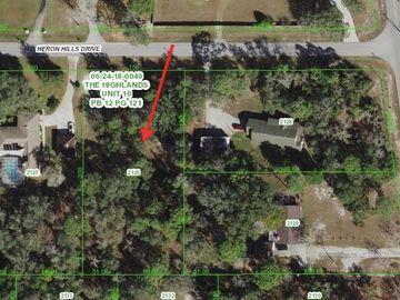0 HERON HILLS DRIVE, Spring Hill, FL, 34610,