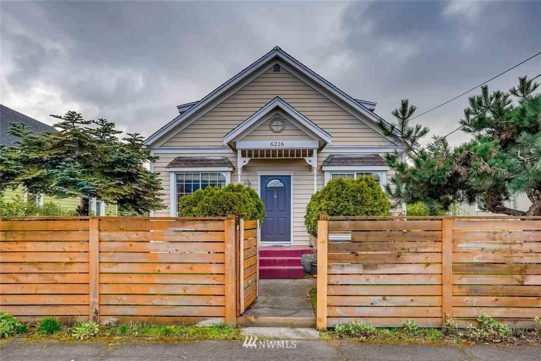 6216 Carleton Avenue S, Seattle, WA, 98108,