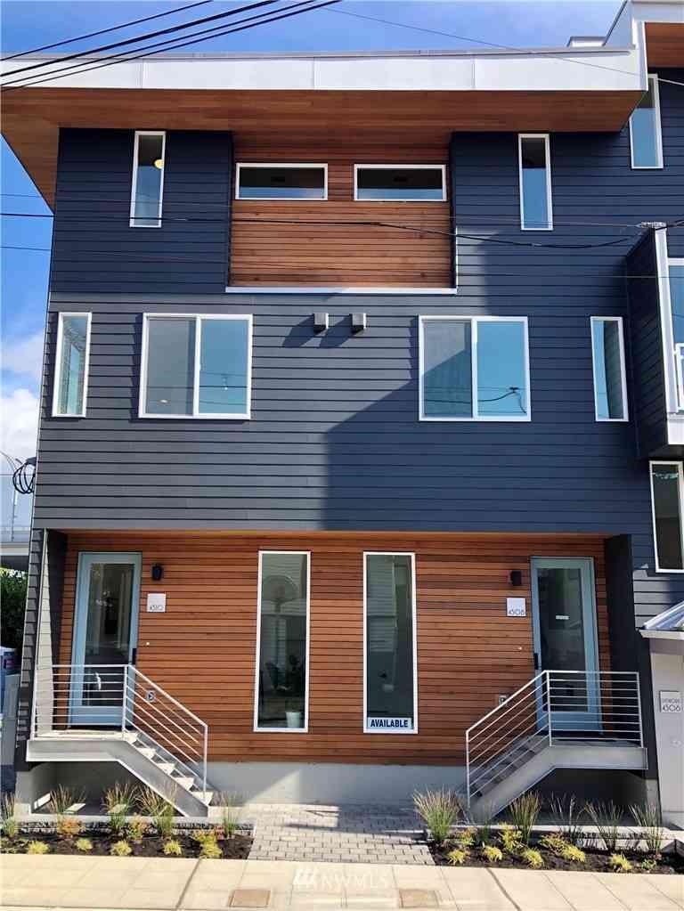 4508 1st Avenue NE, Seattle, WA, 98105,