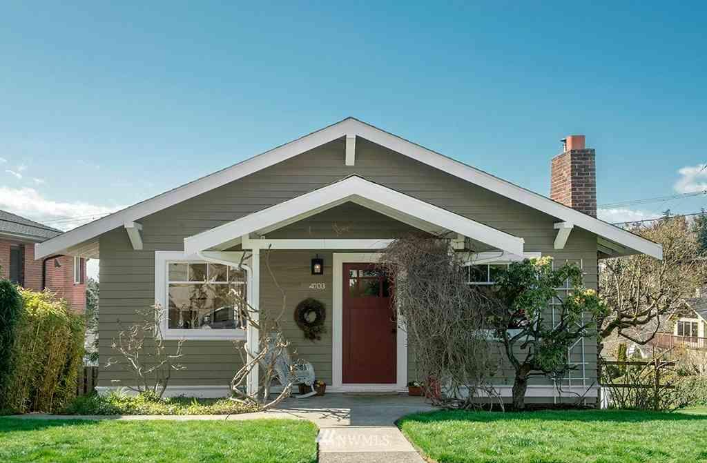 4703 46th Avenue SW, Seattle, WA, 98116,