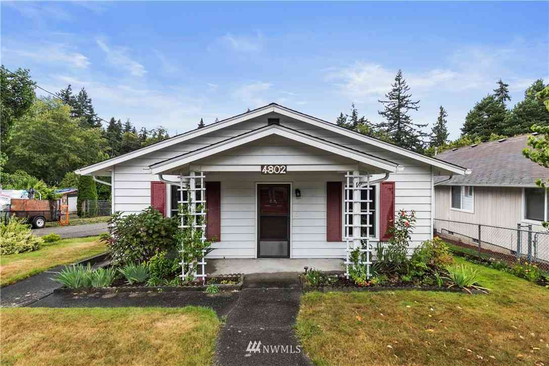 4802 Glenwood Avenue, Everett, WA, 98203,