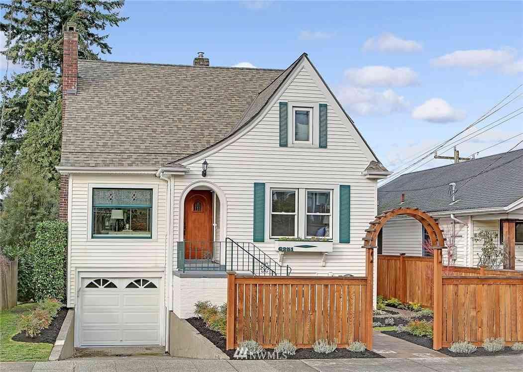6251 Sycamore Avenue NW, Seattle, WA, 98107,