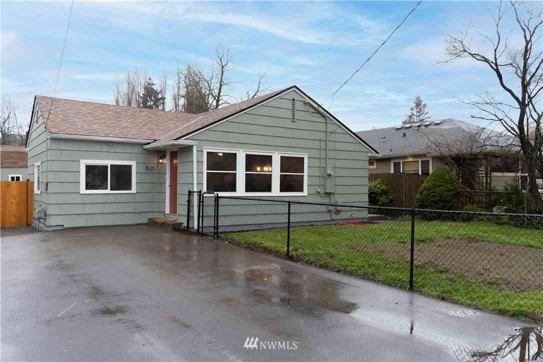 1521 S 42nd Street, Tacoma, WA, 98418,