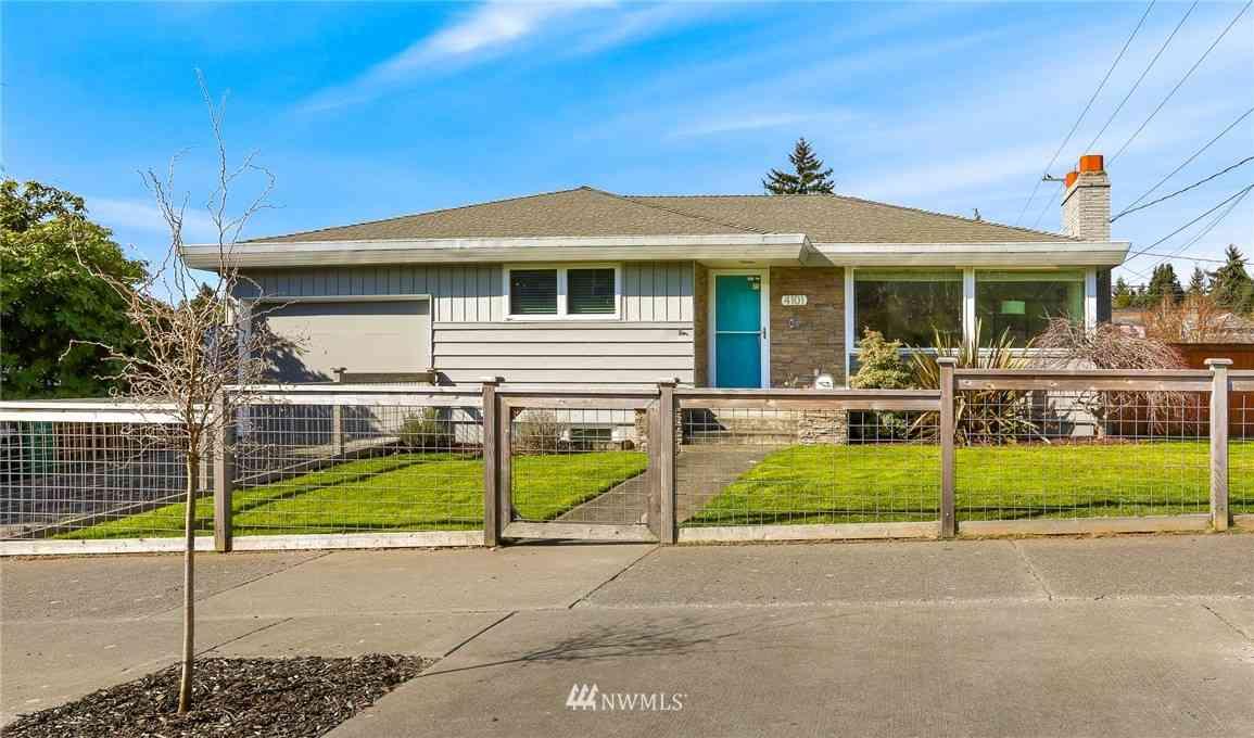 4101 46th Avenue SW, Seattle, WA, 98116,