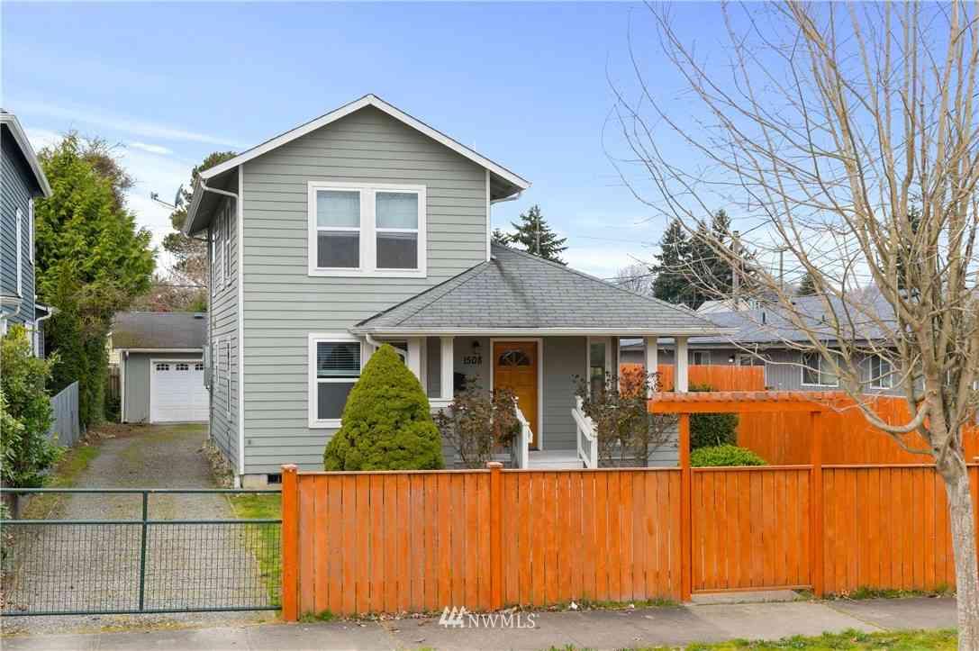 1508 S L Street, Tacoma, WA, 98405,