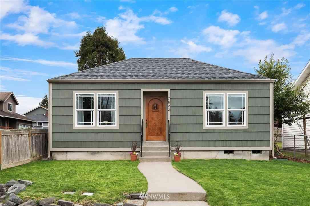 7822 Tacoma Avenue S, Tacoma, WA, 98408,