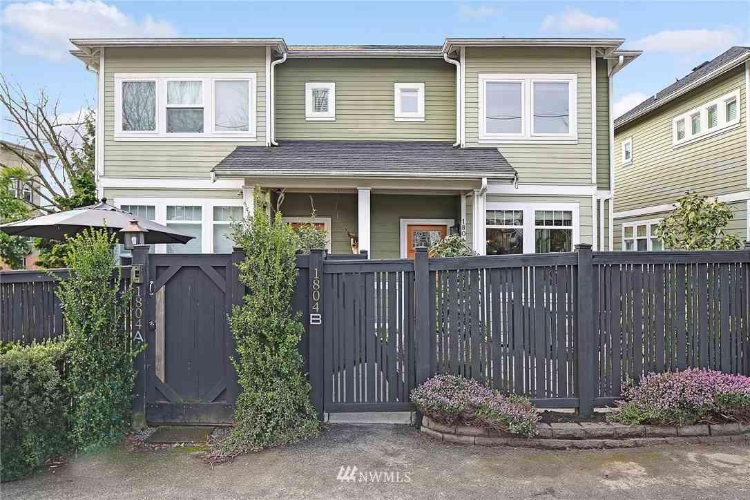 1804 15th Avenue #B, Seattle, WA, 98122,