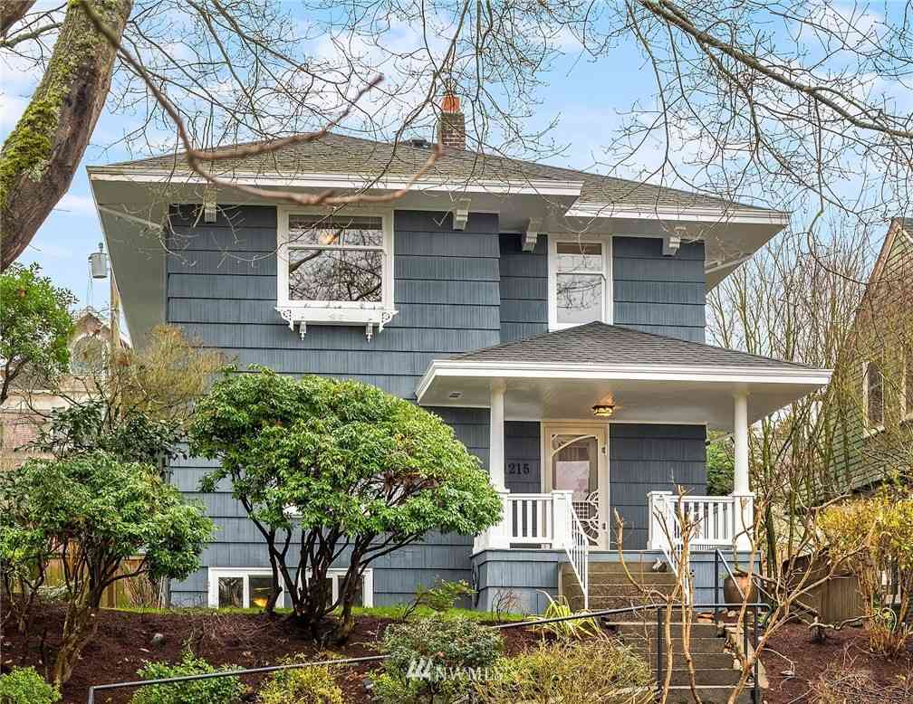1215 17th Avenue E, Seattle, WA, 98112,