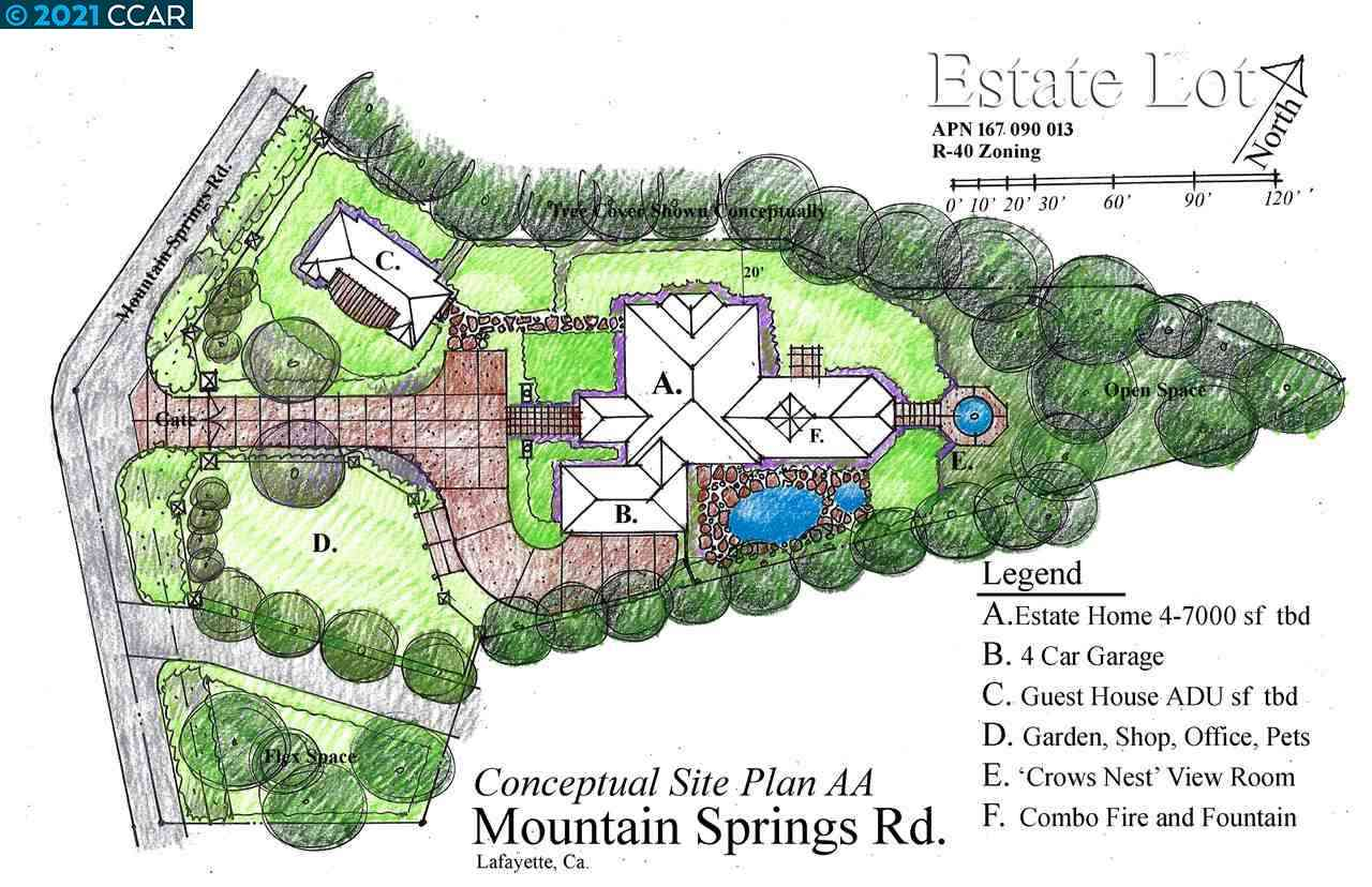 0 Mountain Spring Rd, Lafayette, CA, 94549,