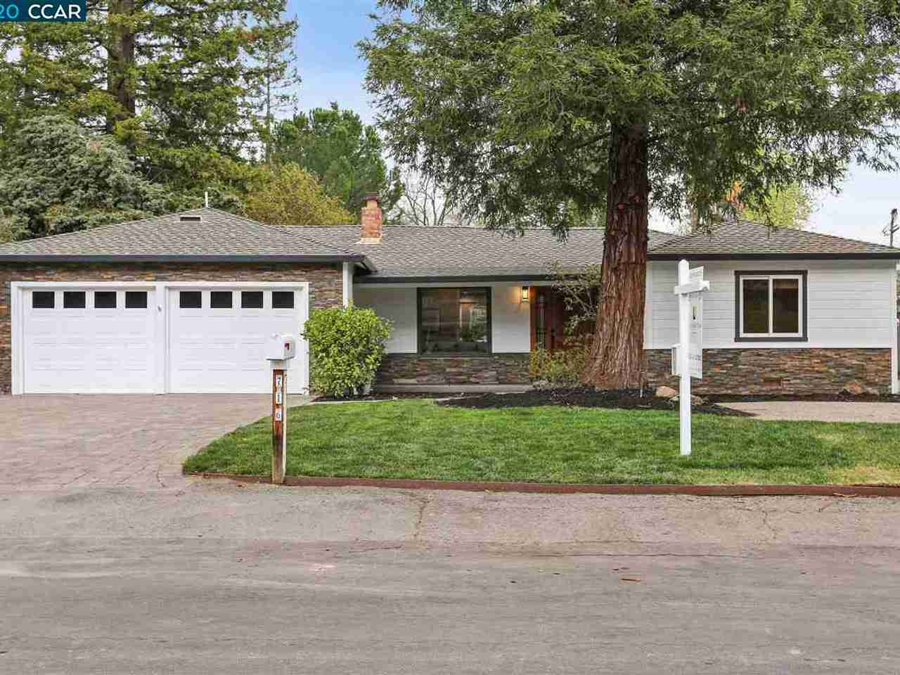 716 Laurel Dr Walnut Creek, CA, 94596