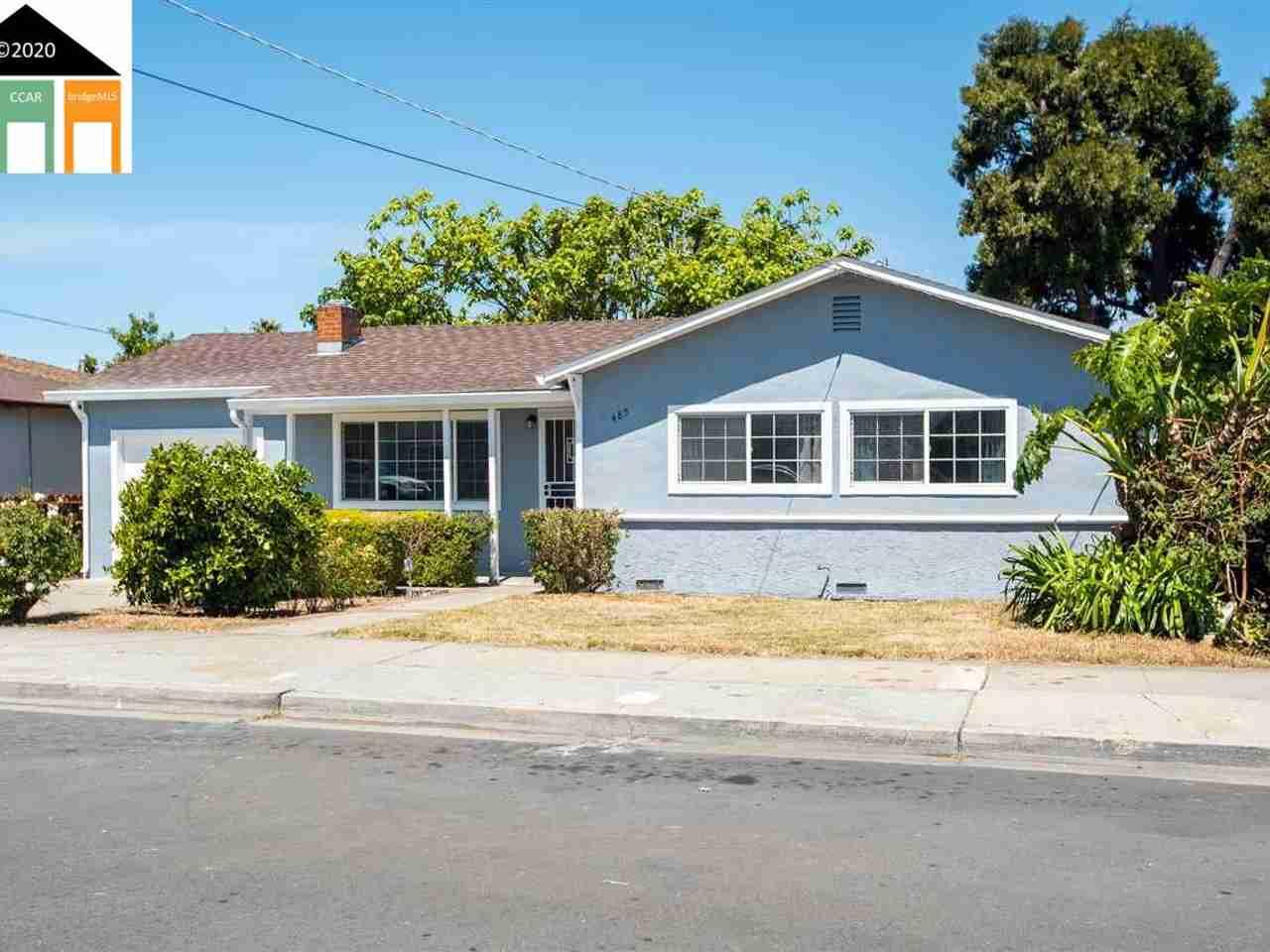 485 PAMELA CT Hayward, CA, 94541