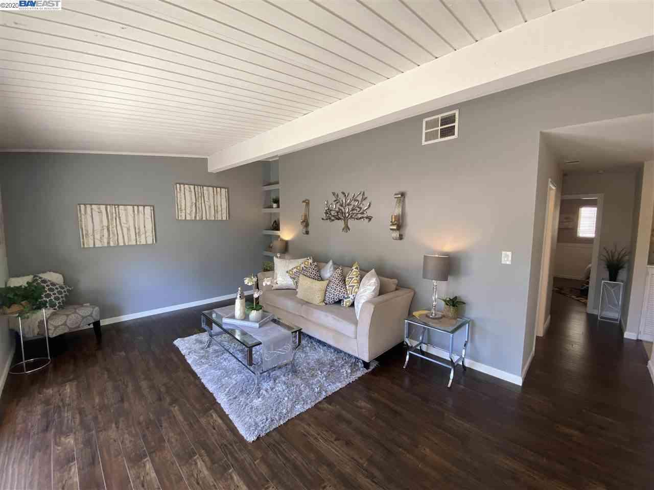 Sunny Living Room, 845 Division St #D, Pleasanton, CA, 94566,