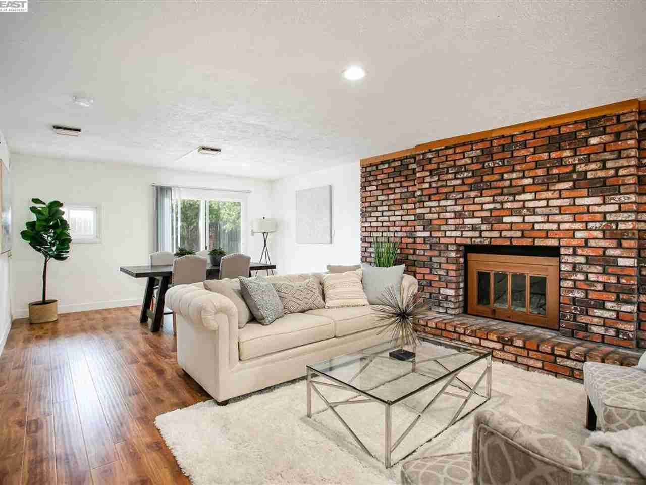 Sunny Living Room, 4273 Chetwood Ave Fremont, CA, 94538